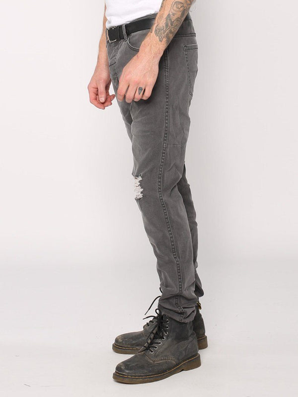 Destroyed Bones Jeans  - Faded Grey - THRILLS CO - 2