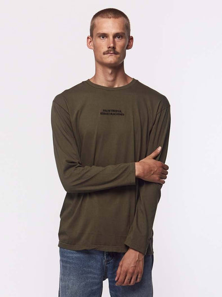 Machine Centre Longsleeve - Olive