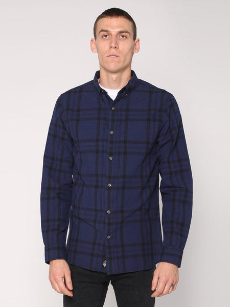 Melvin Long Sleeve Shirt - Petrol - THRILLS CO - 1