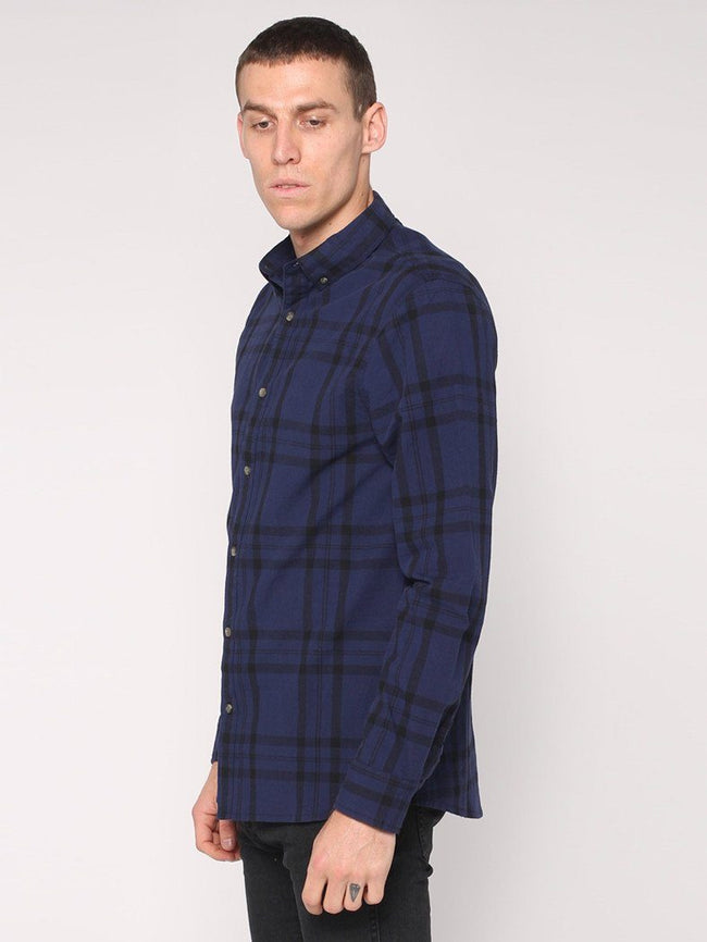 Melvin Long Sleeve Shirt - Petrol - THRILLS CO - 2