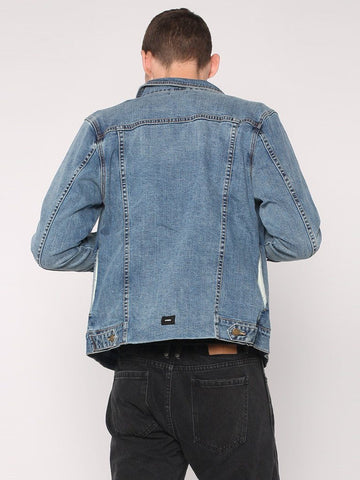 Pleated Ryder Jacket - Heritage Blue - THRILLS CO - 3