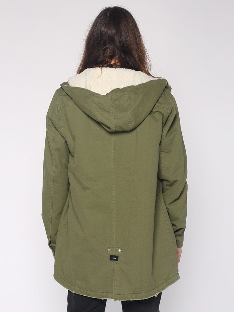 Sherpa Army Trench - Army Green - THRILLS CO - 3