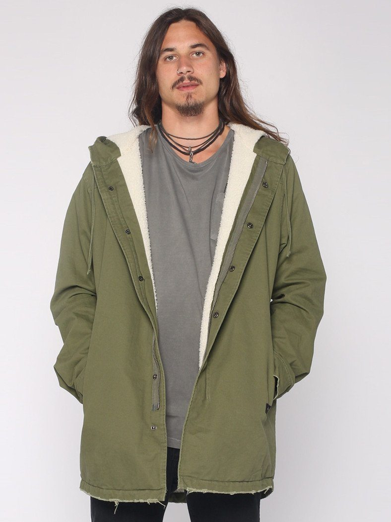 Sherpa Army Trench - Army Green - THRILLS CO - 1