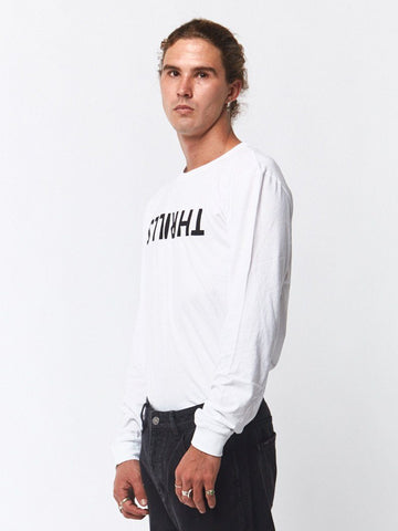 Thrills Long Sleeve Tee - White - THRILLS CO - 1