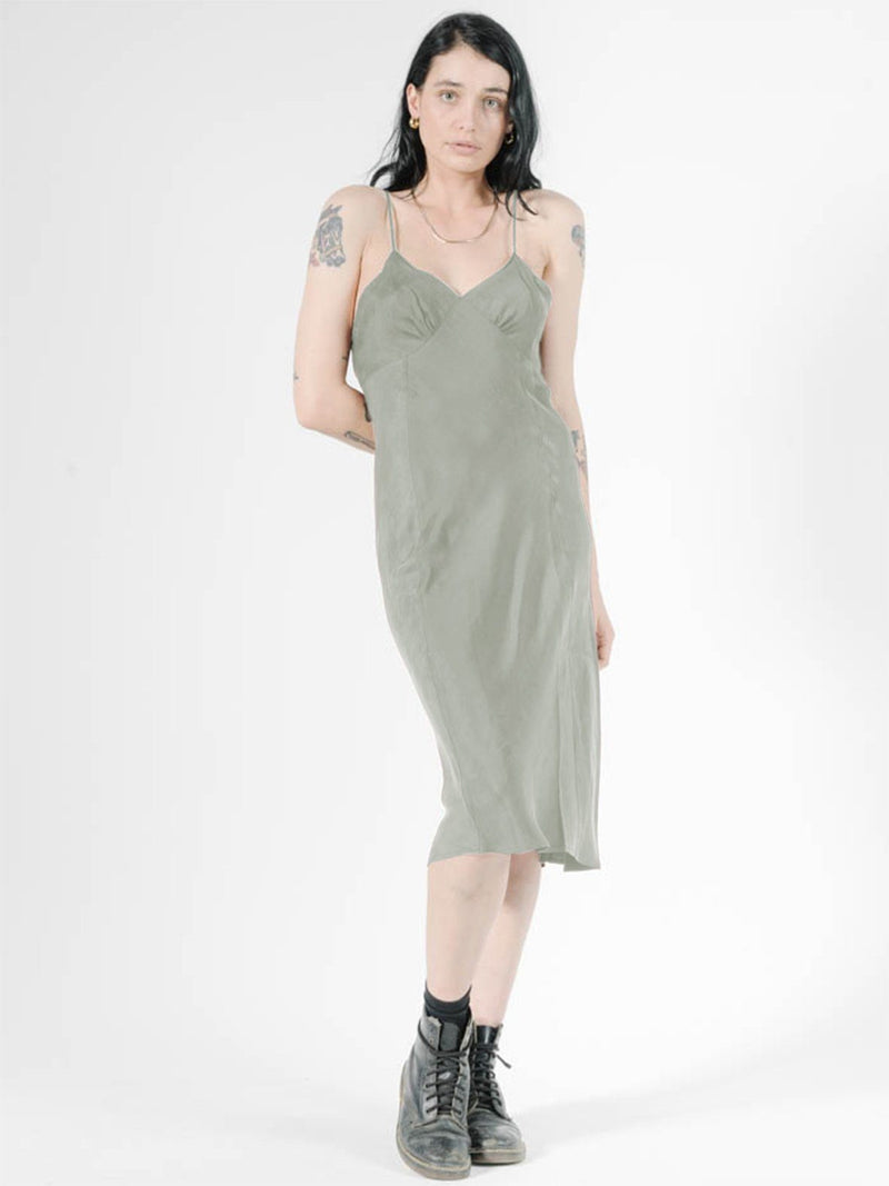 Chateau Slip Dress - Desert Sage