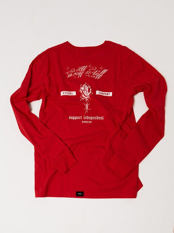 So Ruff So Tuff Long Sleeve Tee - Red