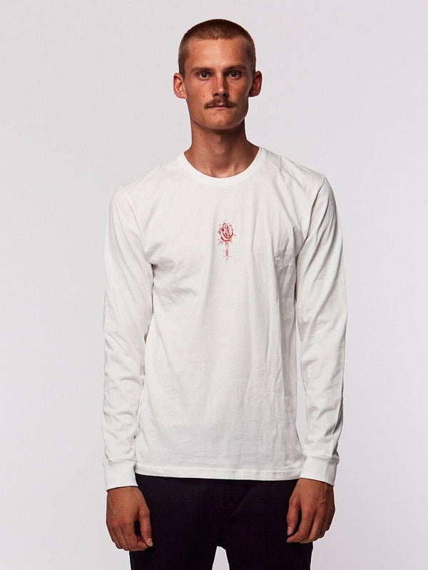 So Ruff So Tuff Long Sleeve Tee - White