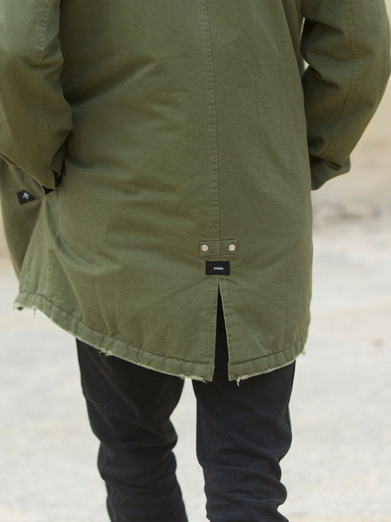 Sherpa Army Trench - Army Green