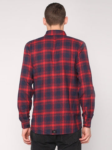 Watts Long Sleeve Shirt - Red - THRILLS CO - 3