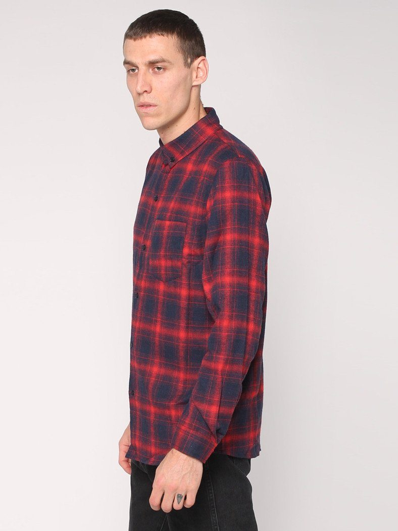 Watts Long Sleeve Shirt - Red - THRILLS CO - 2