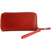 Women's Leather Purse Satchel Handbag clutch Evening Bag Gift For Women cherry red