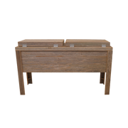 Rustic Double Coolers - Barbed Wire - HRCODB004B 2