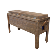Rustic Double Coolers - Barbed Wire - HRCODB004B 6