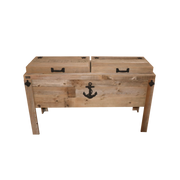 Double Rustic Cooler - Sea Anchor - HRCODB008B