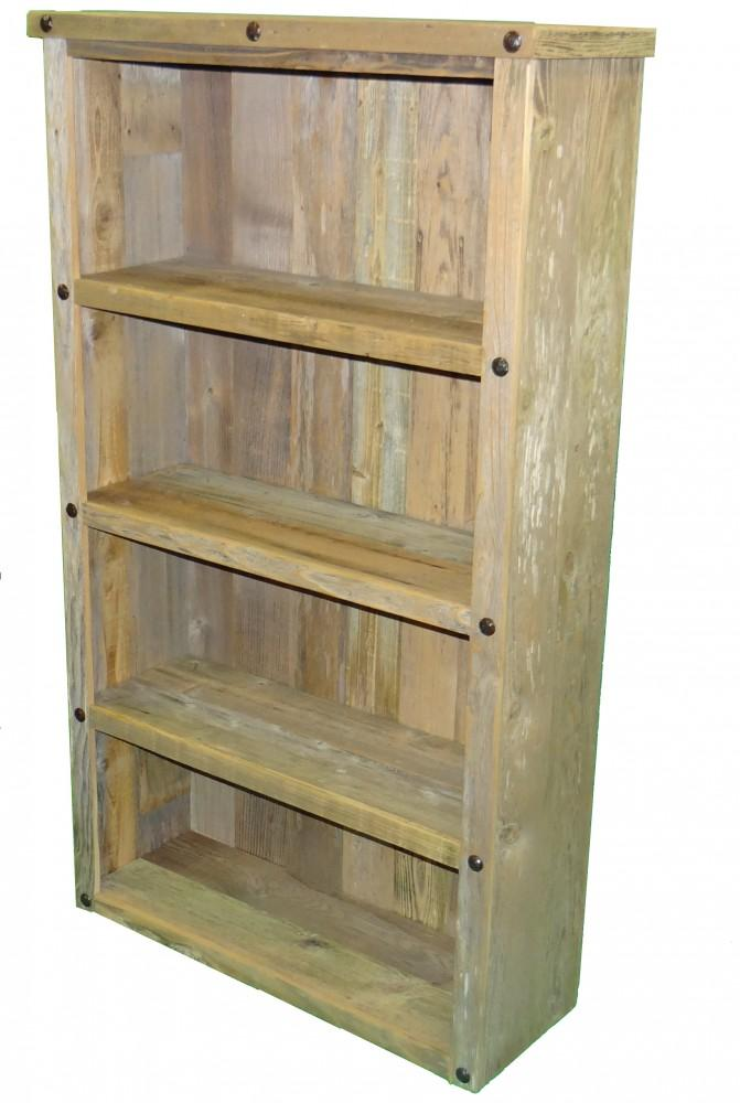 DOUBLE BOOK SHELF W/BUTTONS