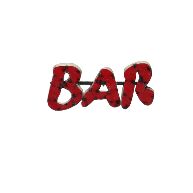 BAR--METAL SIGN