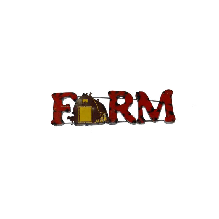 FARM--METAL SIGN