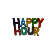 Happy Hour - Metal Sign