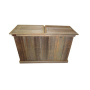 Rustic Double Trash Can - HRTCDB004B 2