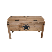 Rustic Double Coolers - Barbed Wire - HRCODB004B
