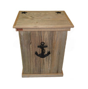 Rustic Trash Can - HRTCSI007B