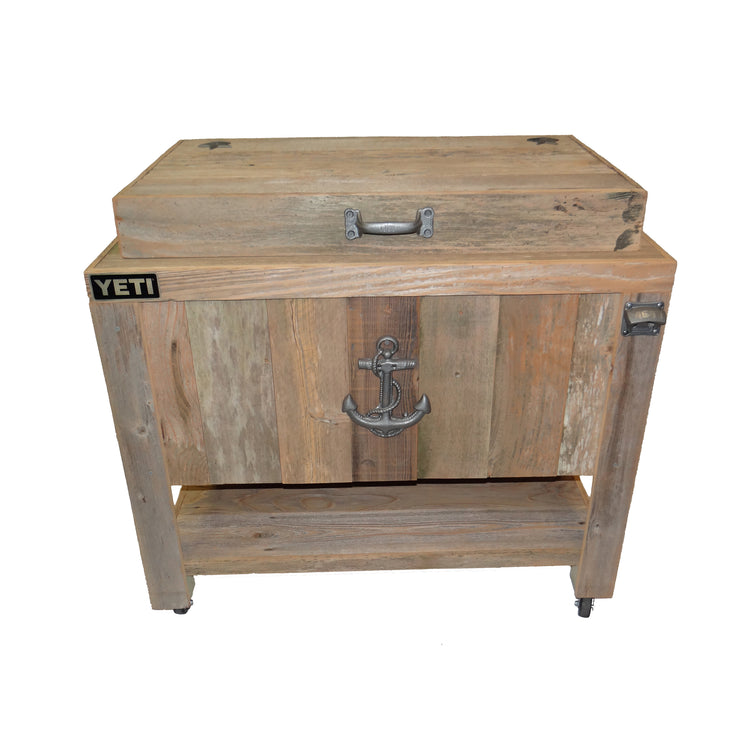 Yeti 65 Rustic Coolers for Outdoor Patios