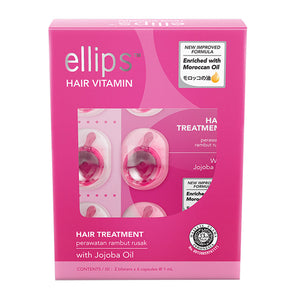 ellips Pink Hair Repair - 12 capsule box