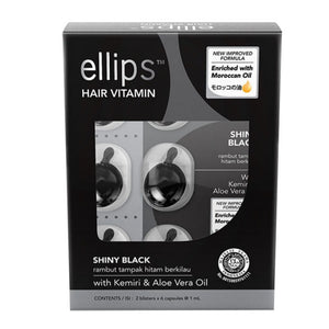 ellips Shiny Black - 12 capsule box