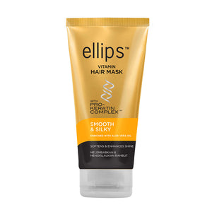 ellips Yellow Smooth & Shiny Hair Mask