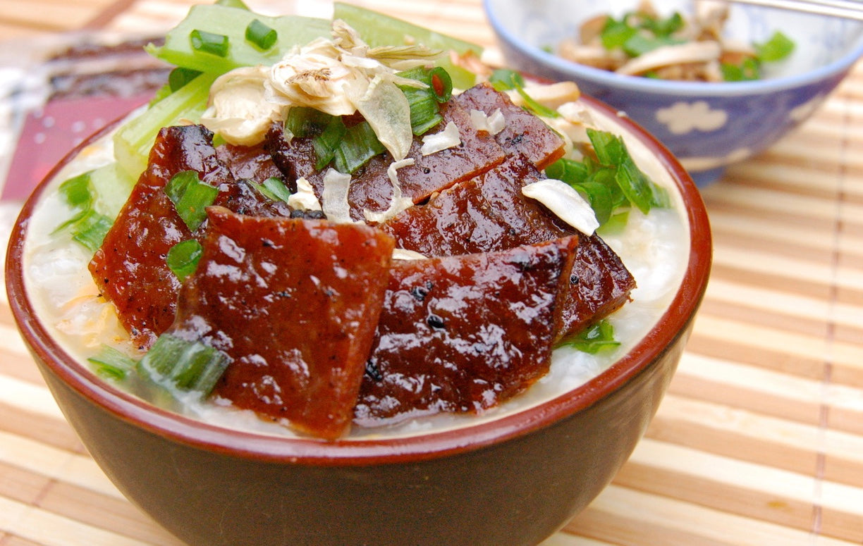 Savory Protein Topping with Bacon or Pork Bak Kwa