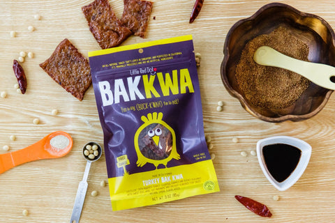 Succulent Sweet Turkey Snack Bak Kwa
