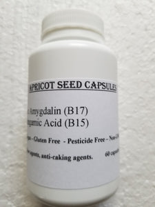 Bitter Apricot Seed Capsules (90) 520 mg.