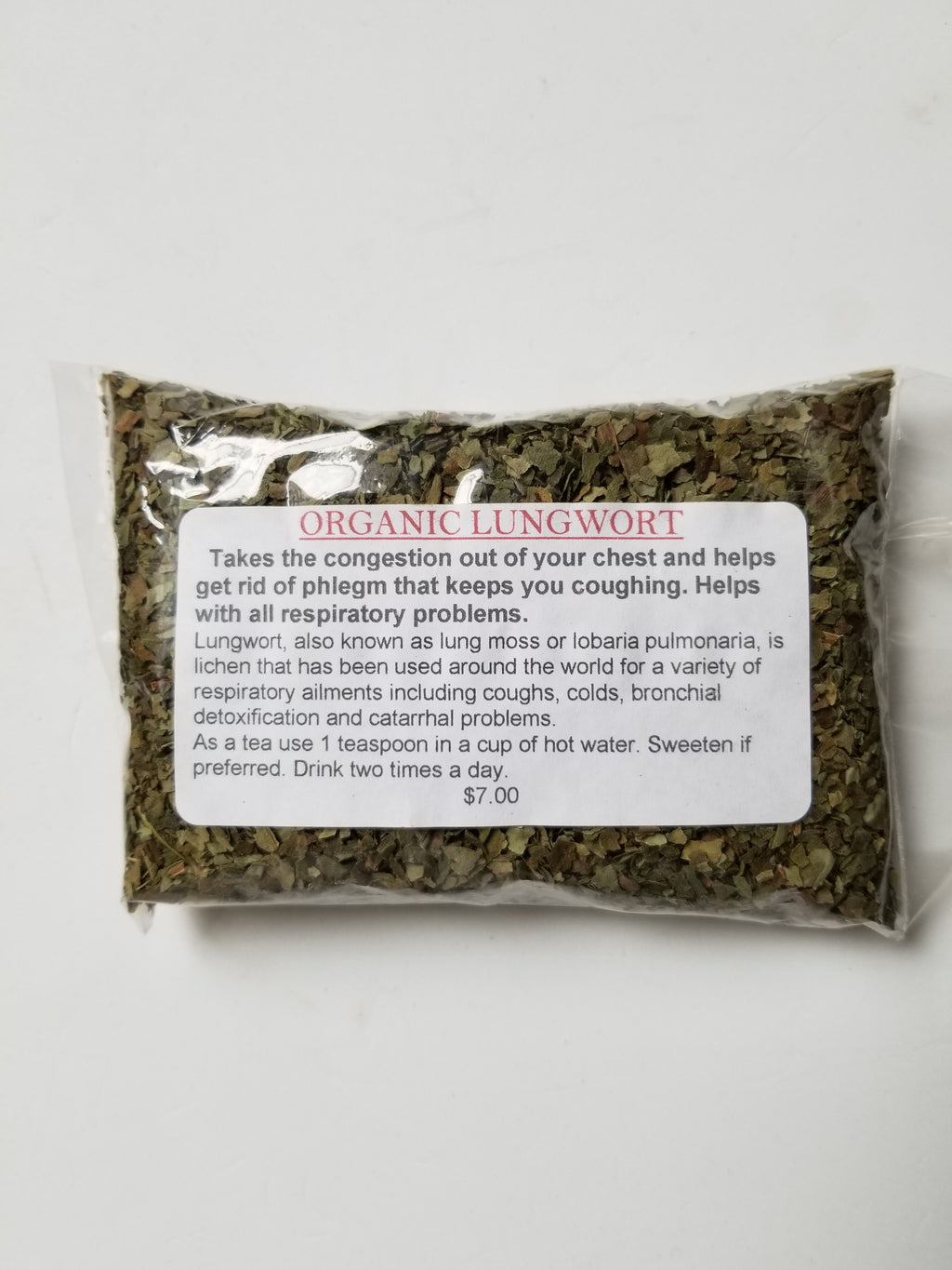 Lungwort (Organic) Bronchial Tea