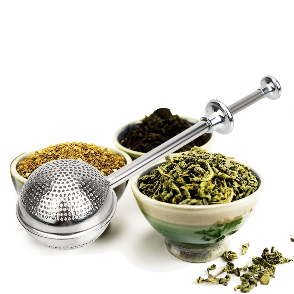 Metal Tea Bag Adjustable Reusable Tea Strainer Ball Stainless Steel Teapot Tea Infuser