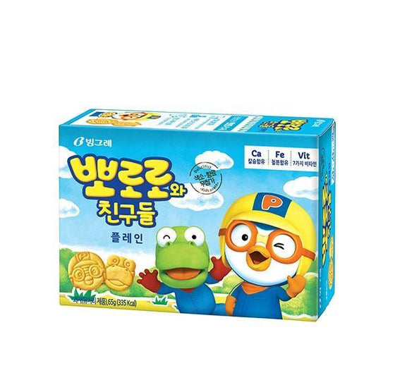 Binggrae Pororo and Friend Plain (65g) - CoKoYam
