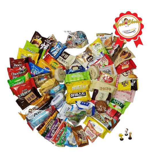 COKOYAM AYCE Korean Snack Box (Over 70 Snack Packs) - CoKoYam