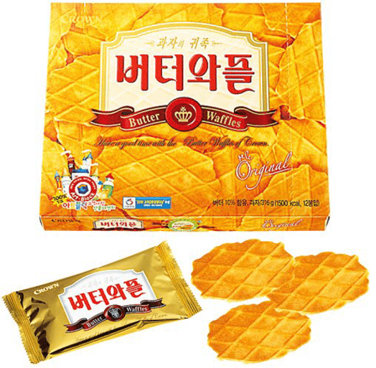 Crown Butter Waffle Biscuit Jumbo (316g) - CoKoYam