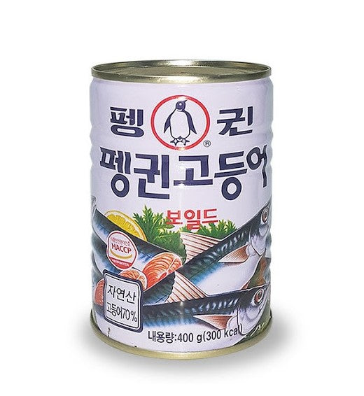Penguin Canned Boiled Mackerel (400g) - CoKoYam