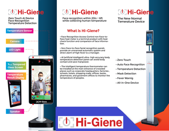 HI-GIENE Self Standing AI Office Secretary (Free Shipping + Free Gift Item) - [Discounted Item] - CoKoYam
