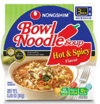 Nongshim Hot & Spicy Noodle Bowl (86g) - CoKoYam