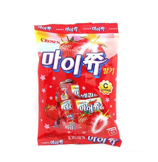 Crown Mychew Strawberry Jelly Candy (92g) - CoKoYam