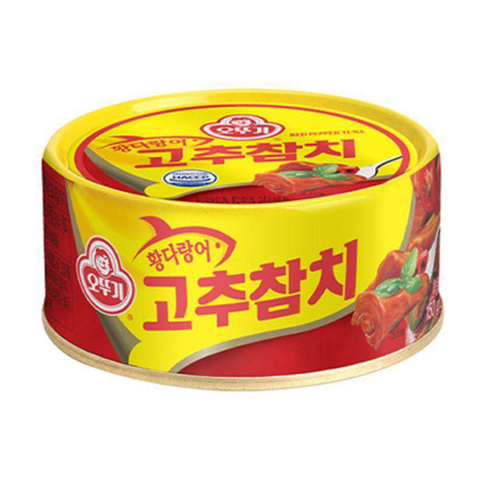 Ottogi Canned Tuna Red Pepper (150gx3pk)-[Discounted Item] - CoKoYam