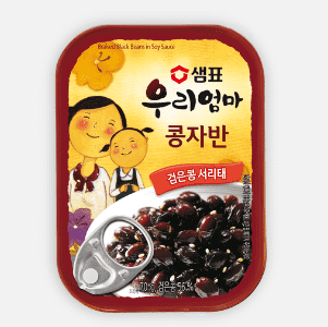 Sempio Canned Braised Black Bean in Soy Sauce (70g) - CoKoYam