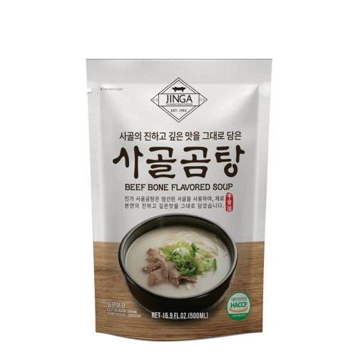 JINGA Beef Bone Soup (500ml) - [discounted item] - CoKoYam