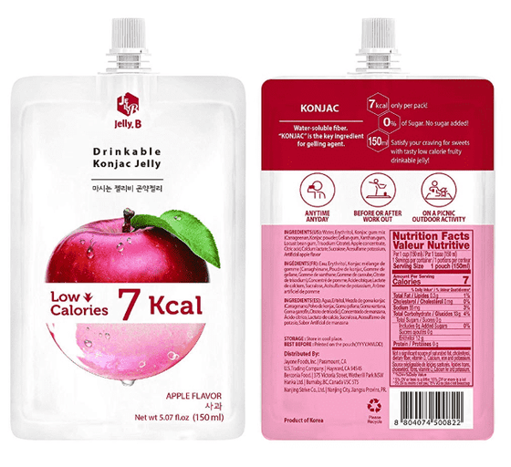 Jayone Jelly B Drinkable Konjac Jelly Apple 162g - CoKoYam
