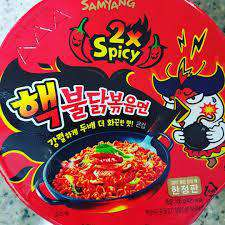 Samyang Hot Chicken 2X Spicy Cup - Buldak Ramen (70g) - CoKoYam