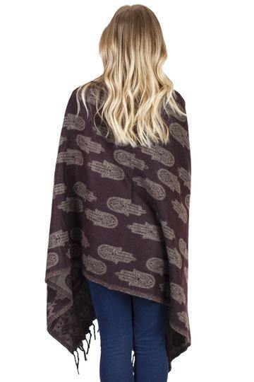 Winter Wonder Warm Hamsa Scarf 41227 - CoKoYam