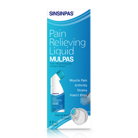 SINSINPAS Pain Relieving Liquid, Mulpas 3 Ea (120ml x 3) - [Free Shipping Item] - CoKoYam