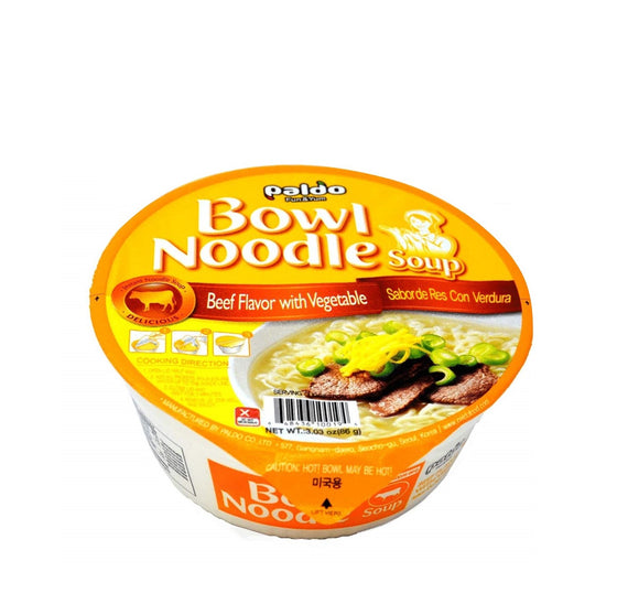 Paldo Beef Flavor with Vegetable based Gomtang Bowl (86g) - CoKoYam