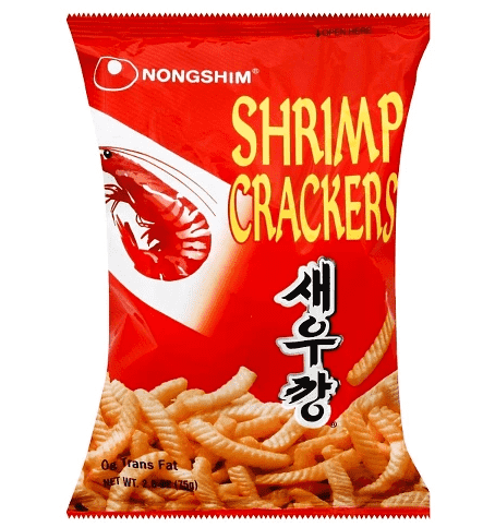 Nongshim Shrimp Crackers Spicy 75g - CoKoYam